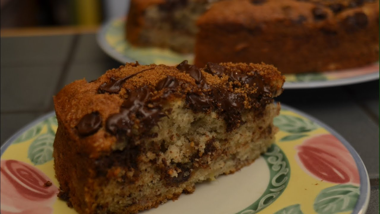 Banana and choc chip cake recipes
