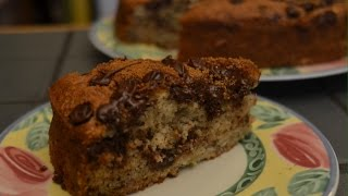 Banana Chocolate Chip Cake - Episode 29 - Reveena's Kitchen