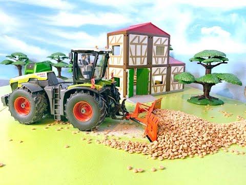 Trecker / Traktor für Kinder - Bauernhof Fahrzeug - Bauernhof  - Farm Vehicles for Kids Tractor