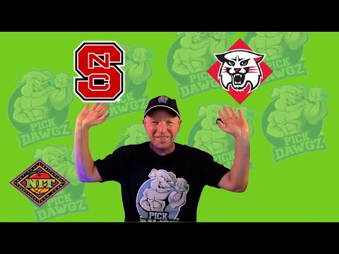 Davidson vs NC State 3/18/21 Free College Basketball Pick and Prediction NIT Tournament Betting Tips