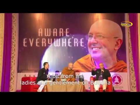 Ajahn Brahm - Aware Everywhere (Talkshow Tour D'Indonesia - Medan)