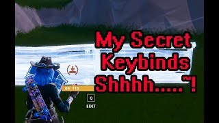 Fortnite - How/Why Three Button Edit & Scroll Wheel Reset & Both Together