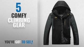 Top 10 Comfy Climbing Gear [2018]: Comfy-Men Large Size Breathable Relaxed-Fit Hunting Action Jacket