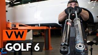 Peržiūrėkite vaizdo įrašo vadovą, kaip pakeisti VW GOLF Amortizatorius