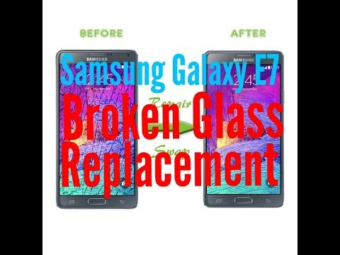 samsung galaxy e7 glass only replacement