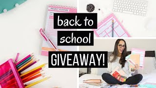 BACK TO SCHOOL SUPPLIES HAUL + GIVEAWAY
