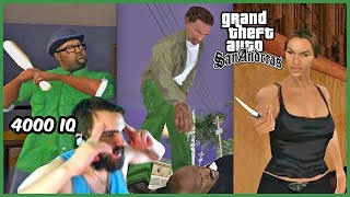 The BEST of Grand Theft Auto San Andreas - Here We Go Again For The First Time.