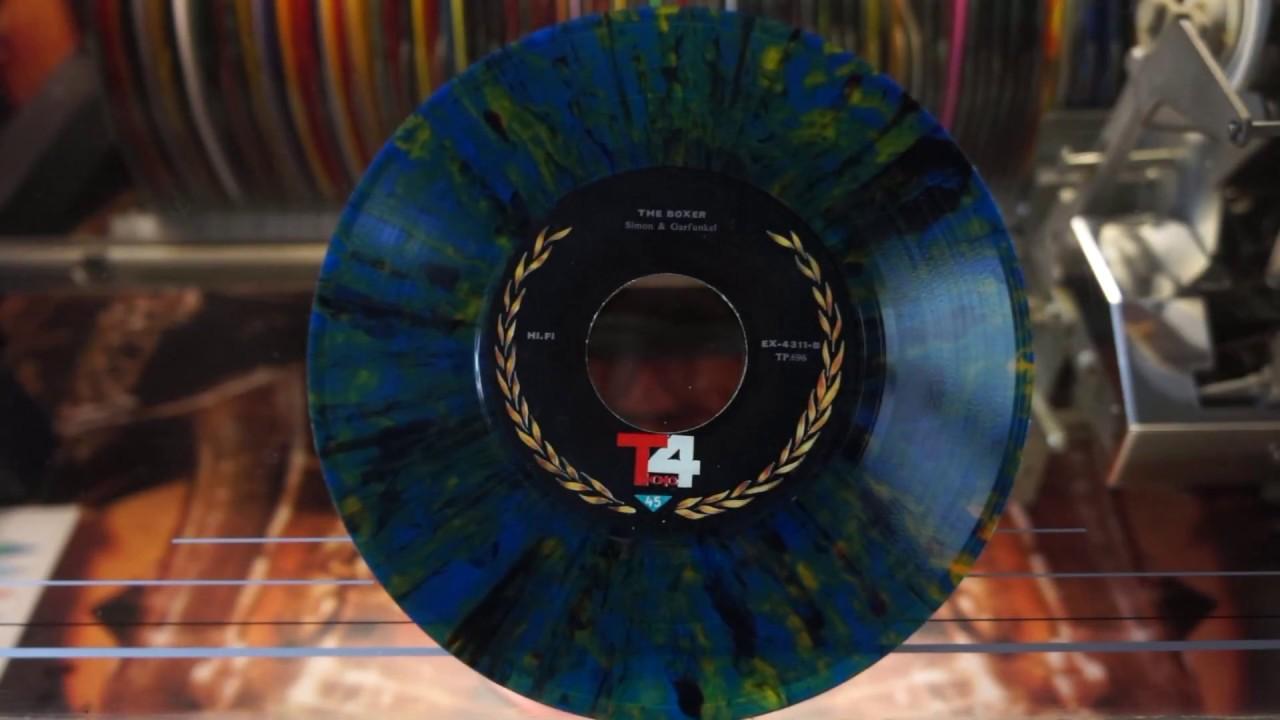 Jonnie's Jukebox Plays: The Boxer-Simon & Garfunkel 1969 Multicoloured 45rpm Record