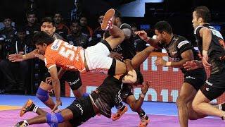 Pro Kabaddi 2018 Highlights | Puneri Paltan Vs U Mumba | Hindi