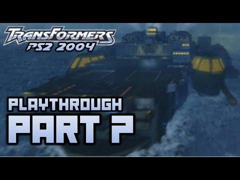 Transformers (PS2) Playthrough Part 7 - Mid-Atlantic (720p)