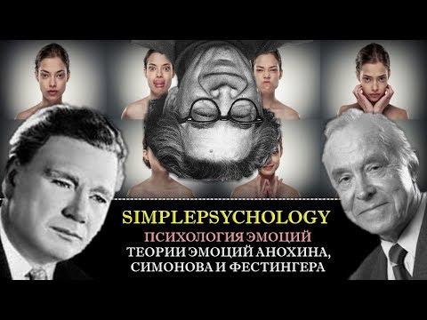 Когнитивная психология эмоций #60. Теории эмоций Анохина, Симонова и Фестингера.