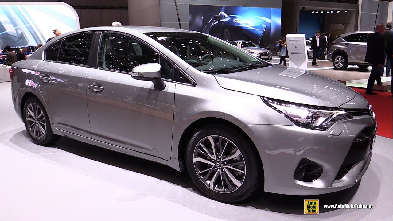 2016 Toyota Avensis Mid+ 2.0 Diesel - Exterior and Interior Walkaround ...