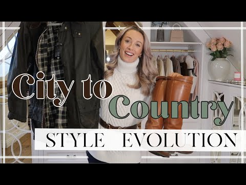1 YEAR STYLE EVOLUTION // CITY TO COUNTRYSIDE // NEW FASHION ESSENTIALS