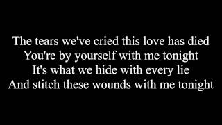 Black Veil Brides - We Stitch These Wounds (Lyrics)