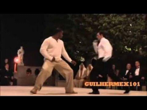 Lutador de rua final parte de um filme de  luta