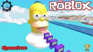 [ROBLOX|SPEEDRUN] ESCAPE HOMER OBBY! [380 Stages] | 1:11:15 hrs. » Ludaris