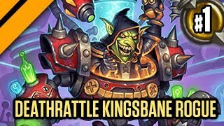 Hearthstone: Boomsday Experimental - Deathrattle Kingsbane Rogue P1