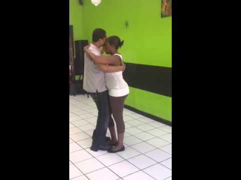 Gus victor dancing pasada  besic step at ej dance studio