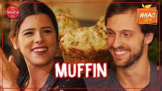 Muffin De Presunto Com Queijo Muçarela  Ju Ferraz  Meu Amigo É Gourmet