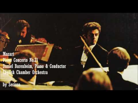 Mozart, Piano Concerto No 21, Barenboim