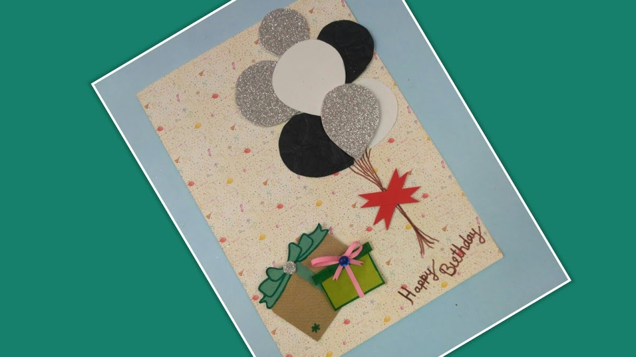 Birthday Cards For Friend Husband BoyfriendDIY Greeting Handmade