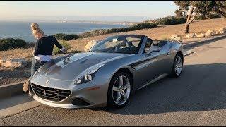 Husband Surprises Wife With Ferrari!