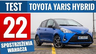 Toyota Yaris Hybrid Selection (2018) - TEST PL