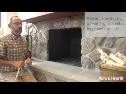 Custom Fireplace Screens SKU# CSTM30 - Plow & Hearth