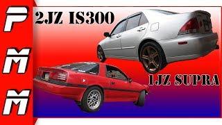 1JZ vs 2JZ Which Sounds Better? 1JZ Supra vs IS300