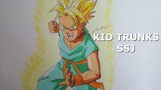 Speed draw - DBZ - Ssj kid Trunks