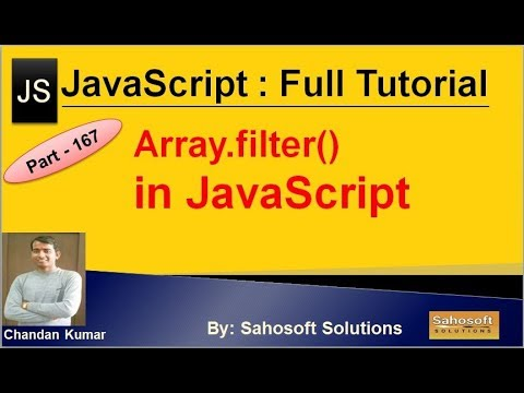 Array filter in JavaScript | JavaScript Full Tutorial in Hindi thumbnail