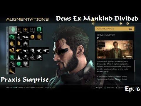 Deus Ex Mankind Divided: System Rift DLC - 5 - Praxis Surprise