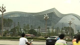 Biggest building: China opens world's largest single structure