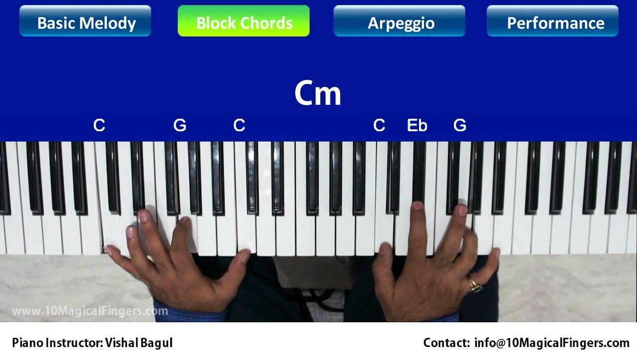 Pukarta chala hoon main piano tutorial melody chords arpeggios pukarta chala hoon main piano tutorial melody chords arpeggios hexwebz Choice Image