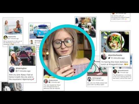 Social Wall: Aggregate Social Media - 60 Second Overview