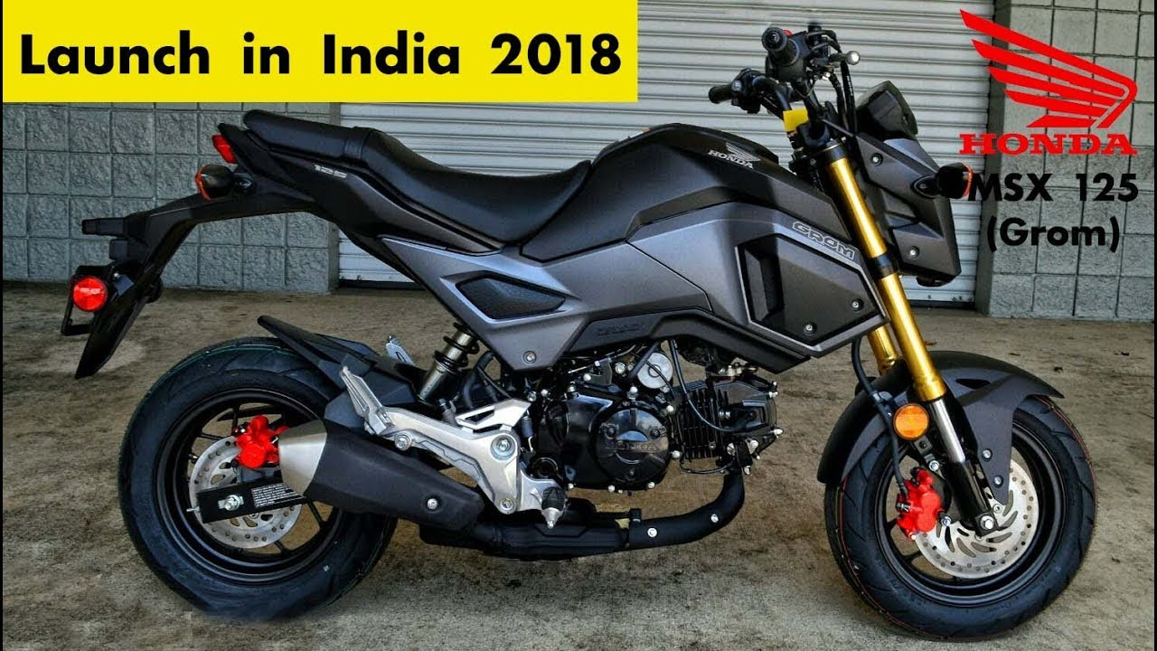 honda msx 125 upcoming bike india burnout youtube. Black Bedroom Furniture Sets. Home Design Ideas
