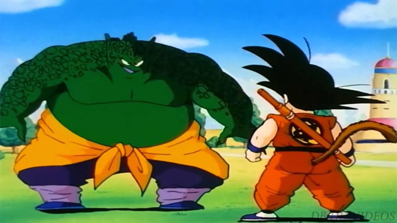 Dragon Ball Goku Vs Drum Youtube