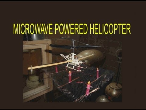 Wireless Powered Microwave Flight History & Experiments