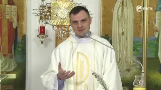 """Євангелія дня і проповідь о. Олександра Зелінського ОМІ """" Господь чинить нас братами і сестрами..."""""""