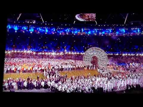 The Flag Of Great Britain-Olympics Opening Ceremony 2012!!