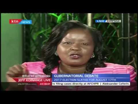 Jeff Koinange Live September 14th 2016; Politics 101-Nairobi Gubernatorial Aspirants Part 1