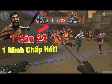 KỶ LỤC HERO BĂNG CÂN TEAM 1 VS 23 HỦY DIỆT ZOMBIE NANO