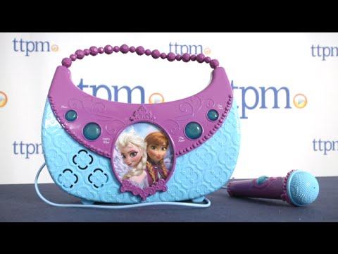 Disney Frozen Cool Tunes Sing-Along Boombox from KIDdesigns