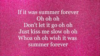 Megan Nicole - Summer Forever - Lyrics