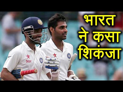 India vs South Africa 3rd Test : Rahane Bhuvi steady as India 199/6 l वनइंडिया हिंदी