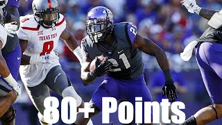 80+ Point College Football Games