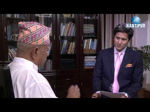 Dr. Ram Baran Yadav in TOUGH talk