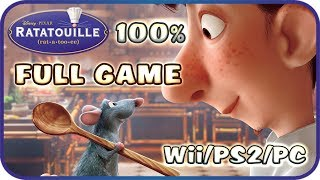 Ratatouille Walkthrough 100% FULL GAME Longplay (PS2, Wii, Gamecube, XBOX, PC)