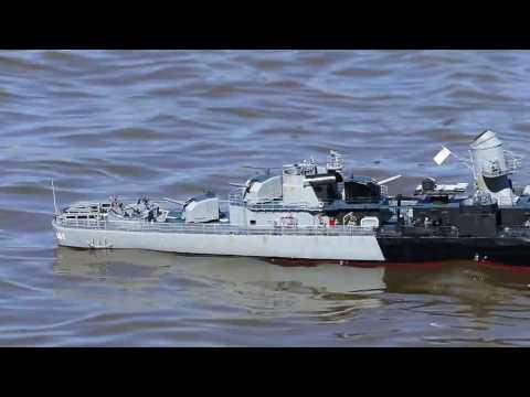 Modified AquaCraft Fletcher destroyer