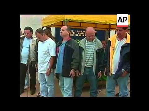 COLOMBIA: DRUG SMUGGLING INVESTIGATION